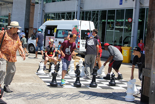 Chess on Queens Wharf