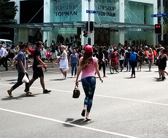 Topshop opens on Queen Street
