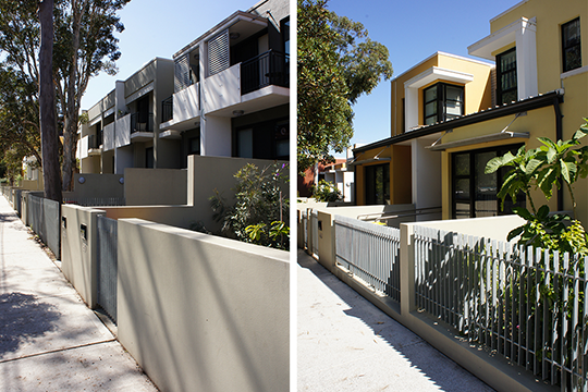 Redfern terraces