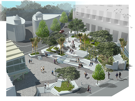 Freyberg proposed design