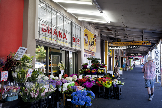 A flower shop on Ponsonby Road