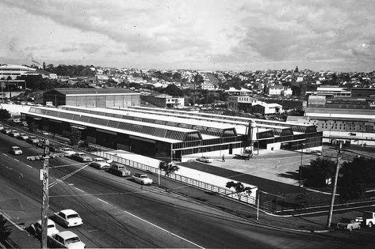 The City Works Depot was originally used as Auckland's central bus depot, before falling into  disuse (Source: Architecture Now)