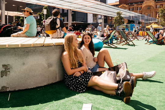 People need other people, so its important we design spaces where people can interact