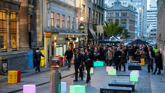 As Auckland's city centre laneway circuit continues to grow, increased opportunities for quality public spaces will present themselves (O'Connell Street, Auckland city centre)