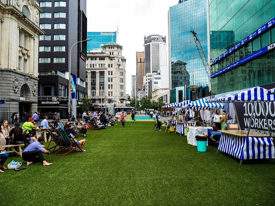 Auckland's CBD earns a perfect 100 on Walk Score (Source: Emerging Auckland)