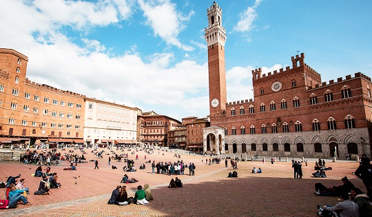 The Piazza del Campo in Siena, Italy, which, according to the renowned urban designer Jan Gehl, is the 'perfectly designed' public square