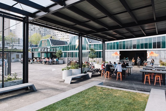 These days, the City Works Depot is a hub for industry-leading creative businesses