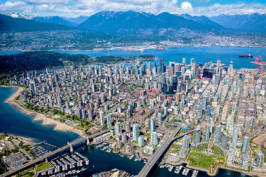 New planning policy has led to a surge in the delivery of high-density dwellings suitable for families in Vancouver.