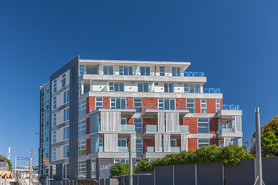 The Hypatia, located adjacent the Grafton Railway Station, is Ockham's most recently completed medium-density development.