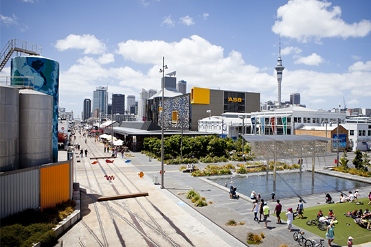 Wynyard Quarter will likely adopt a 30 km/h speed zone on all of its streets.