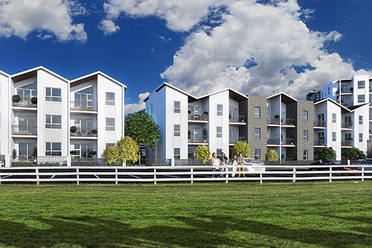 The Set development, located adjacent Avondale Racecourse, is one of several Ockham projects currently under construction.