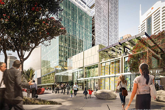 Commercial Bay will be one of the most prominent developments on the Auckland Waterfront.